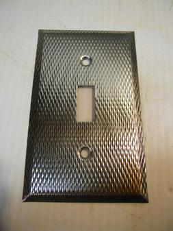 Stainless Steel Single Toggle Light Switch Cover Wall Plate