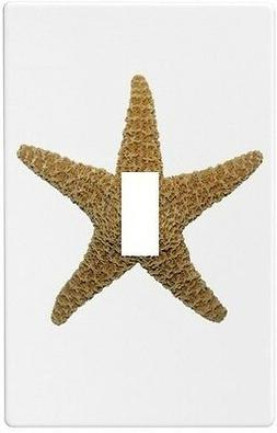 Starfish Seashell Wallplate Wall Plate Decorative Light Swit