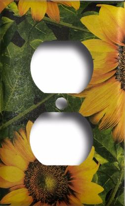Sunflower Country Decor Signal Decorative Outlet Wall Plate