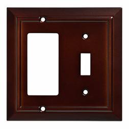 Switch Decorator Wall Plate Architectural Espresso Franklin