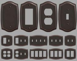 Switch Plate Outlet Cover Rocker Toggle Light Wall Plate - O