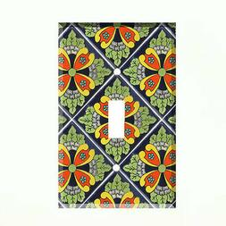 Talavera Tile Light Switch Plate Wall Cover Mexico