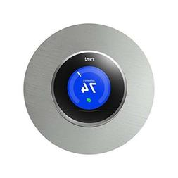 NEST THERMOSTAT WALL PLATE 6-Inch Steel Cover Fits Generatio