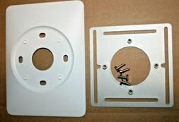 Nest Thermostat Wall Plate + Steel back plate All Gens. New