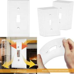 """Enerlites Toggle Light Switch Wall Plate, Size 1-Gang 4.50"""""""