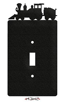 SWEN Products TRAIN COAL ENGINE Wall Plate Cover