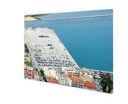 Ashley Giclee Transportation Dock At Nafplio Greece, Wall Ar