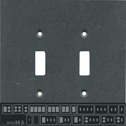 Vermont Charcoal Slate Switch Plates, Wall Plates & Outlet C