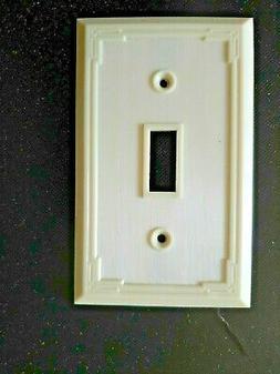 VINTAGE Single Gang Light Switch WALL PLATE NEW LEVITON 1-I
