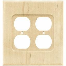 Franklin Brass W10398-UN-C Square Double Duplex Wall Plate/S