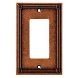 Liberty Hardware W16047-CPS-U Copper Ruston 1 Gang Decorator