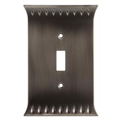 Brainerd W30331-904 Wadsworth Single Switch Cover Wall Plate