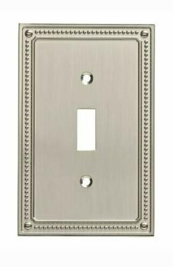 Franklin Brass W35058-SN-C Classic Beaded Single Switch Wall