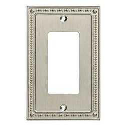 Franklin Brass W35060-SN-C Wall Switch Plate, Single, Satin