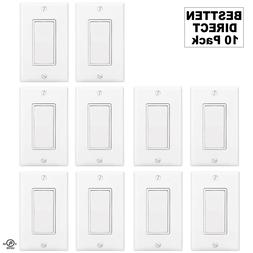 BESTTEN Wall Light Switch Interrupter , Decor Wall Plate In