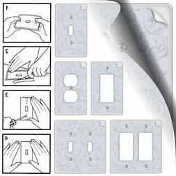 Wall Paper It Switch Plate Wallpaper Wallplate Rocker Toggle