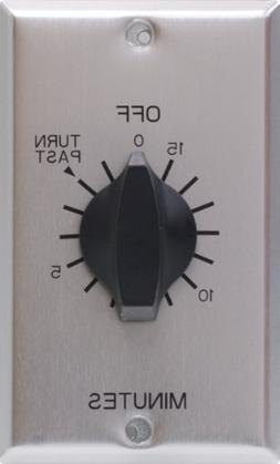 GE 15-Minute Countdown Timer, In Wall Mechanical Switch, Spr