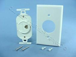 Leviton White 110-Type Telephone Insert T568B Cat 3 WECO 410