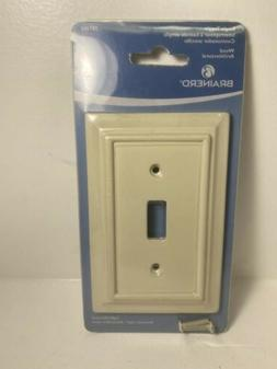 BRAINERD WOOD ARCHITECTURAL SINGLE SWITCH TOGGLE WALL PLATE