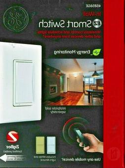 GE ZigBee In-Wall Smart Switch – Model 45856GE